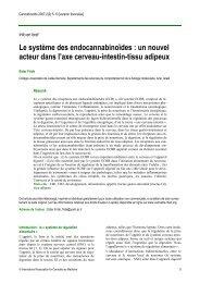 Le « système des récepteurs aux endocannabinoïdes - International ...