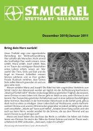Dezember - Katholische Kirchengemeinde St. Michael, Stuttgart ...
