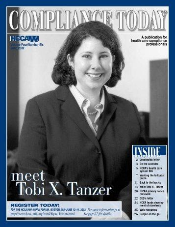 TT - Health Care Compliance Association