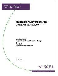 Managing Multivendor SANs with SAN InSite 2000 - Unylogix ...