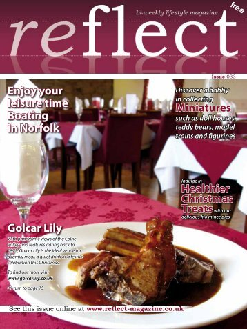 Golcar Lily Enjoy your leisure time Boating in ... - Reflect Magazine