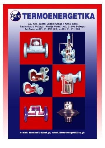 Termoenergetika - katalog 1 - TDM