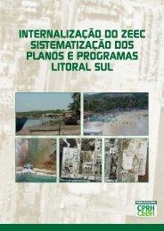 Sistematização dos Planos e Programas - Litoral Sul - CPRH ...