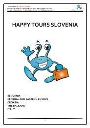 happy tours slovenia