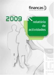 Relatório de Actividades 2009 - Portal das Finanças