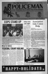 December 1973 - San Francisco Police Officers Association