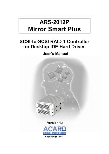 ACARD ARS-2012P DRIVERS FOR WINDOWS