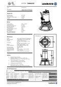 Datasheets DWM42 serie - Landustrie - Page 3