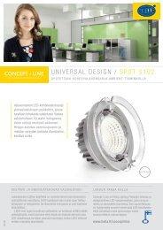 UniversaL DesiGn / sPOT s102
