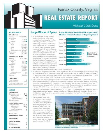 Fairfax County Real Estate Report Midyear 2008 - Commercial ...