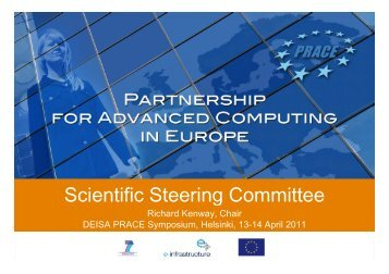 Scientific Steering Committee Scientific Steering Committee - prace