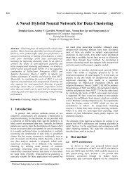 A Novel Hybrid Neural Network for Data Clustering - ResearchGate