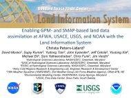 7. Enabling GPM- and SMAP-based land data ... - SMAP - NASA