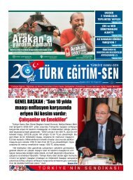Çalışanlar ve Emekliler - Türk Eğitim-Sen