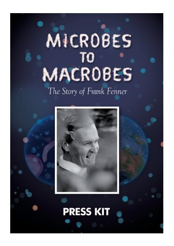 to download the MICROBES TO MACROBES press kit - Ronin Films