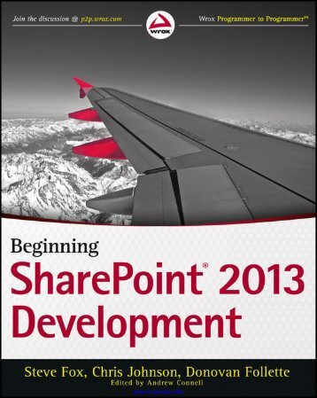 Beginning SharePoint® 2013 Development - DivShare