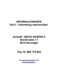 informasjonshefte for beboere i lervig maritim a - Herborvi.no