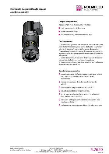 1 2 3 4 5 7 8 9 10 11 12 Elemento de sujeción de ... - Römheld GmbH