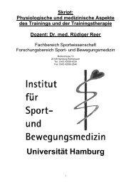 Physiologische und medizinische Aspekte des ... - Coach-Mueller.de
