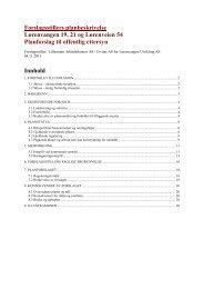 Saksmal - planskisse, forslagsstillers planbeskrivelse