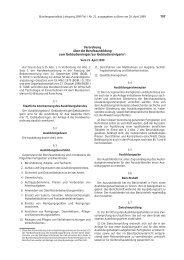 797 Verordnung über die Berufsausbildung zum ... - BiBB
