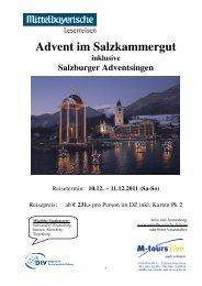 11 12 10 Reiseprogramm Salzburger Adventsingen