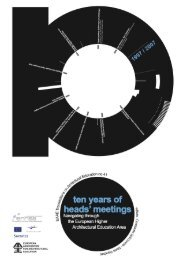 Ten Years of Heads' Meetings - ENHSA
