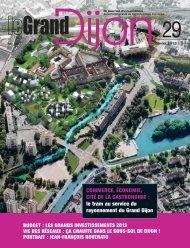 Téléchargez le Grand Dijon n° 29, janvier 2013