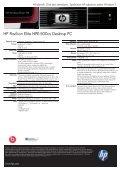 PSG Consumer 1C11 HP Desktop Datasheet - Page 2