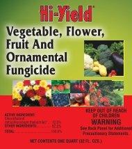 Label 33550 Vegetable Flower Approved 03-14-12 - Fertilome