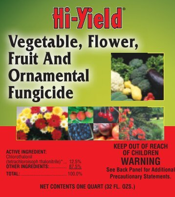 Label 33550 Vegetable Flower Approved 03-14-12 - Fertilome