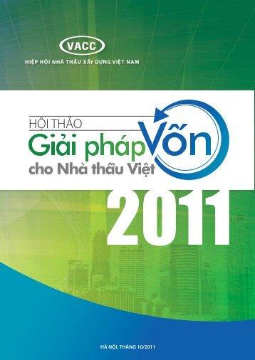 Hà Nội, tHáNg 10/2011 - Hiệp hội Nhà thầu Xây dựng Việt Nam