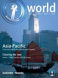 Asia-Pacific - Kuehne + Nagel