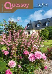Maisons fleuries 2012 - Mairie de Quessoy