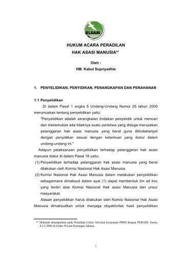 hukum acara peradilan HAM.pdf - Elsam