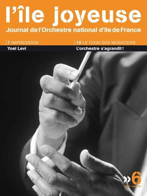 Téléchargez ici l'édition n° 6 - Orchestre national d'Ile-de-France