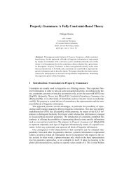 Property Grammars: A Fully Constraint-Based Theory - HAL