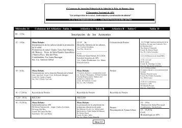 Programa Actividades Mar del Plata - Colegio de Farmacéuticos de ...