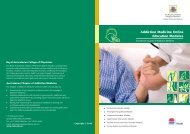 Addiction Medicine Online Education Modules