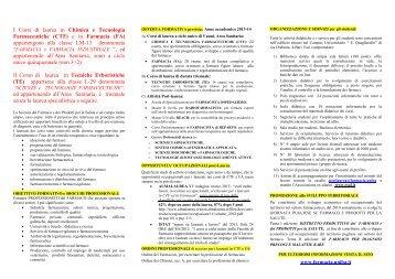 Depliant - Farmacia