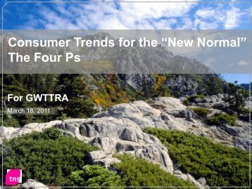 Consumer Trends for the New Normal, John Packer ... - Gwttra.com