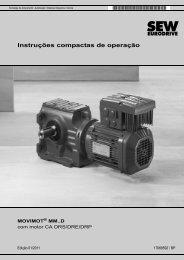MOVIMOT® MM..D com motor CA DRS/DRE/DRP - SEW-Eurodrive