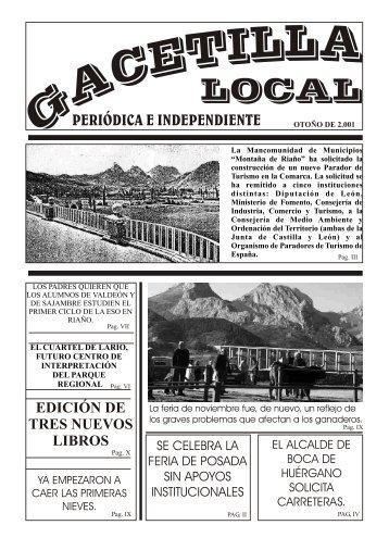 Gacetilla en .PDF - Revista Comarcal de la Montaña de Riaño