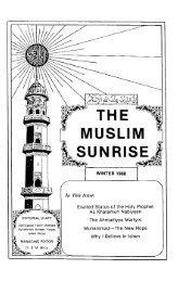 1988 - The Muslim Sunrise