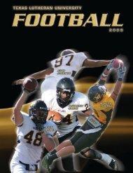 2009 - Texas Lutheran Athletics