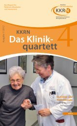 Das Klinik- quartett KKRN Mobilität und Lebensfreude
