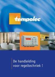 Handleiding regeltechniek Tempolec - GoLanTec