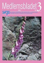 Medlemsblad 3 2005 - SFOG
