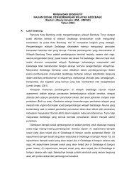 kajian sosial pengembangan wilayah gedebage - Pemerintah Kota ...