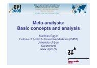 Meta-analysis: Basic concepts and analysis - Epi2008